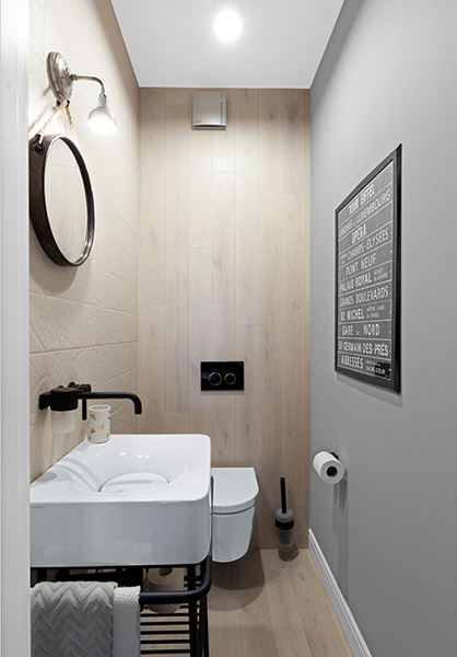 Decoración Nórdica para el baño